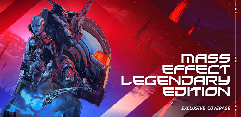 Mass Effect Legendary Edition Exclusive Coverage