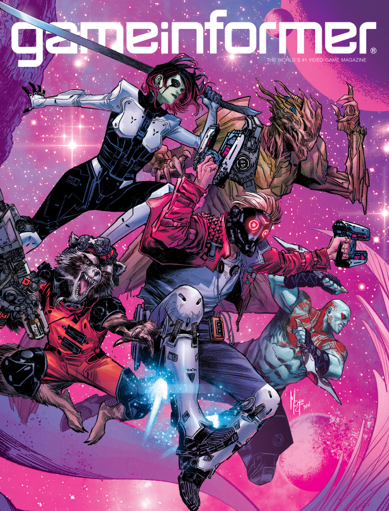 Marvel's Guardians of the Galaxy Cover