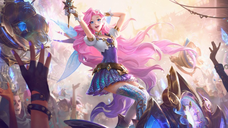 <div>Seraphine Is Officially League Of Legends' Next Champion</div>