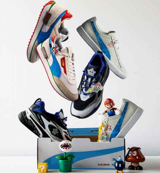Nintendo And Puma Team Up For New Super Mario 3D All-Stars Shoe ...