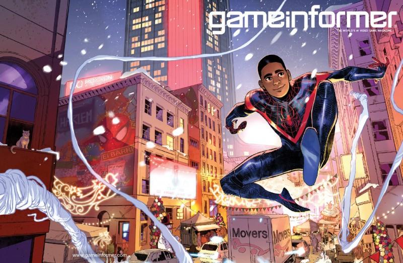 <div>Cover Reveal – Marvel's Spider-Man: Miles Morales</div>