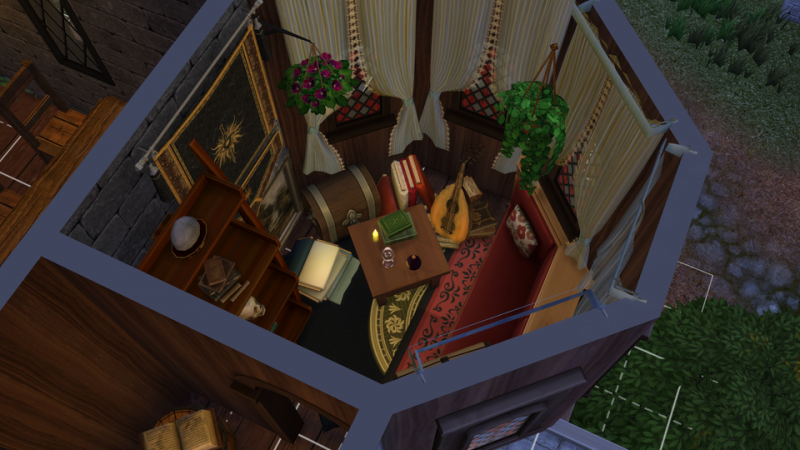 <div>Dragon Age Inquisition's Skyhold Entirely Recreated In The Sims 4, Room By Room</div>