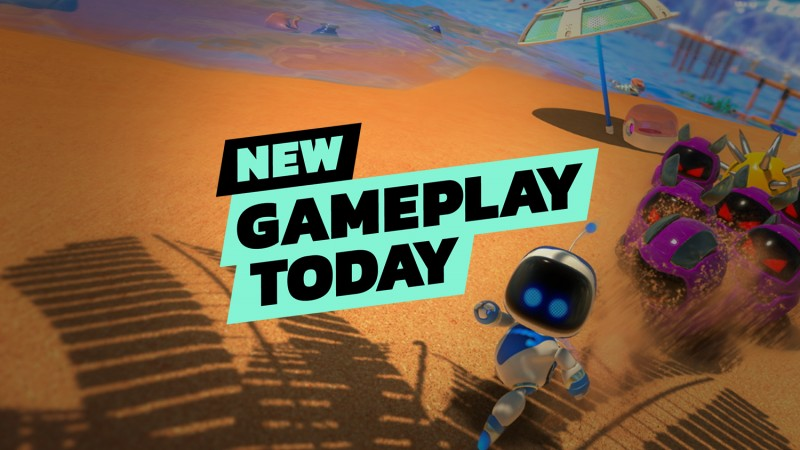 <div>New Gameplay Today – Astro's Playroom on PlayStation 5</div>