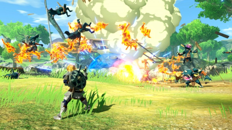 Why The Hyrule Warriors Age Of Calamity Team Made A Breath Of The Wild Prequel Game Informer