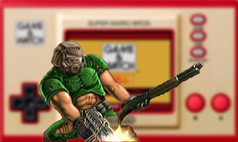 Play Doom On The Nintendo Game