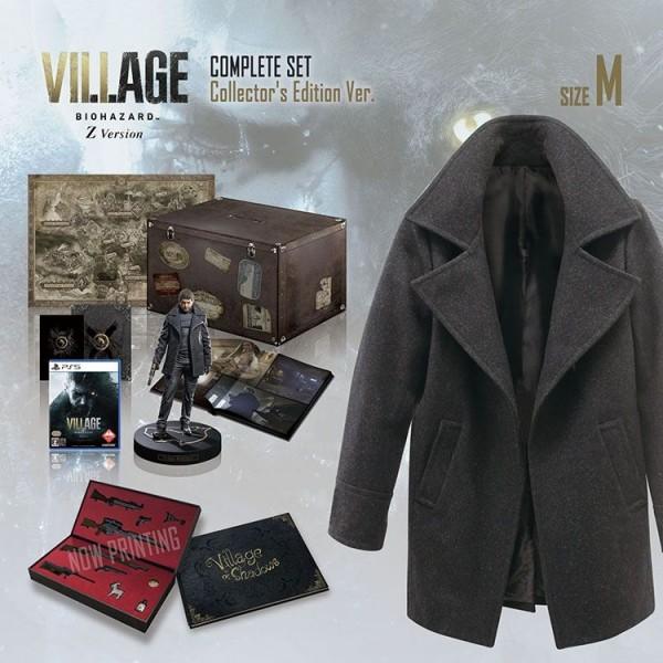 resident evil village complete set collectors edition pics