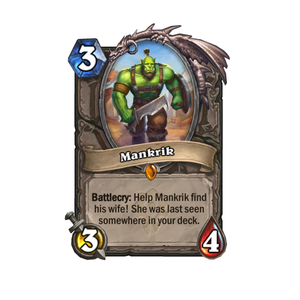 Find Mankrik's Wife In Hearthstone's Forged In The Barrens Expansion 2