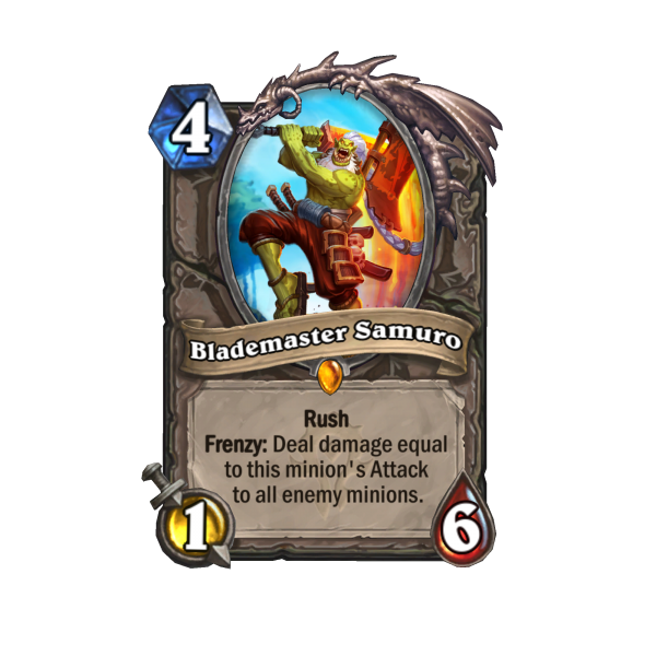 Find Mankrik's Wife In Hearthstone's Forged In The Barrens Expansion 4
