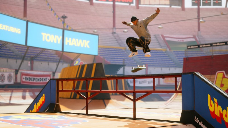 <div>Tony Hawk's Pro Skater 1 + 2 Coming To PS5, Xbox Series X, And Switch</div>
