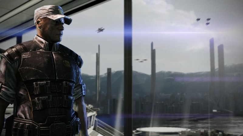 New Mass Effect Legendary Edition Video Shows Off Why Captain Anderson Is The Best