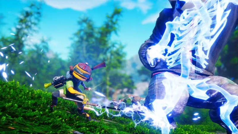 Biomutant Flexes Its Martial Arts Prowess In New Combat Trailer