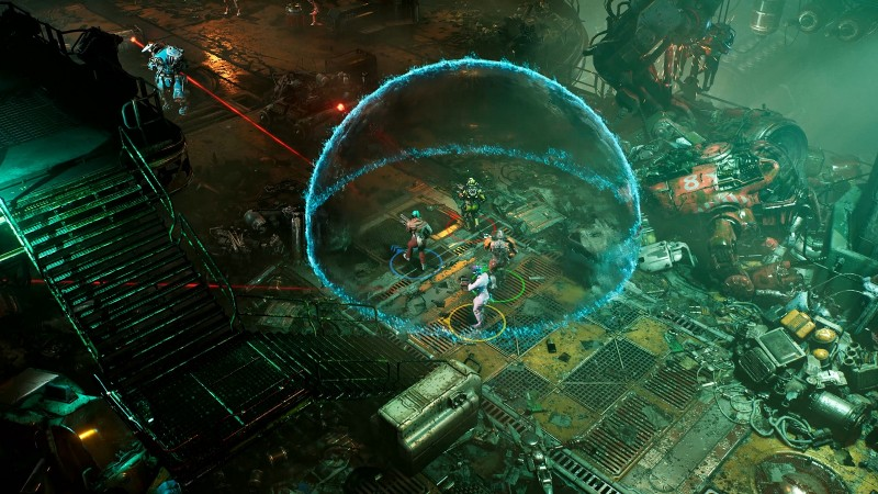 The Ascent Shows Off Co-Op With Shadowrun Style