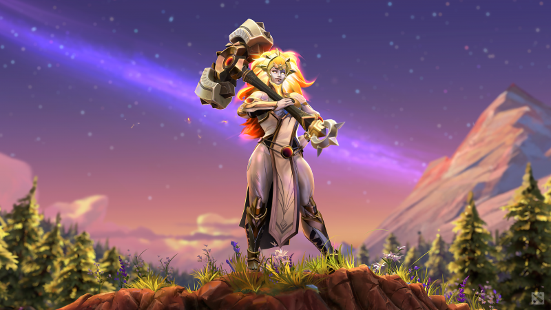 Meet Dawnbreaker, Dota 2's new hero