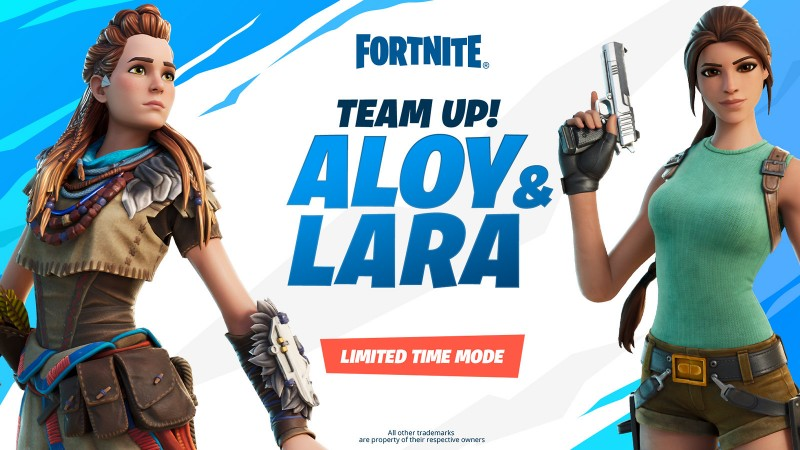 Fortnite's Aloy And Lara Croft Team-Up Delayed Until Next Week
