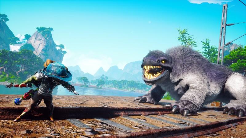 biomutant monster train tracks | RPG Jeuxvidéo