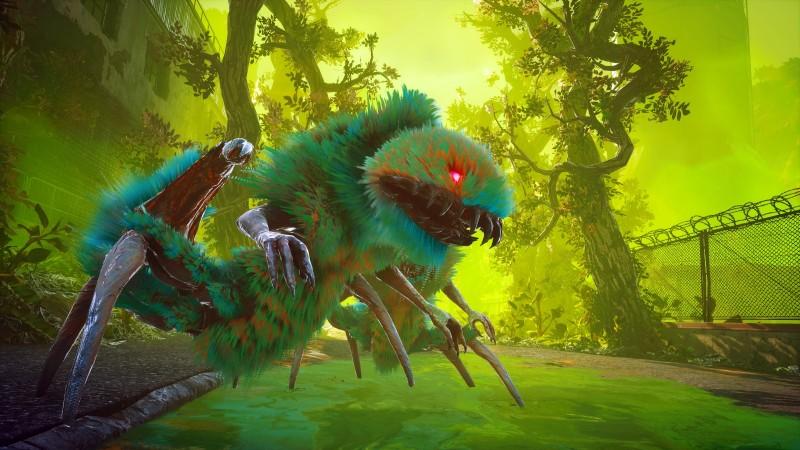 biomutant green monster | RPG Jeuxvidéo
