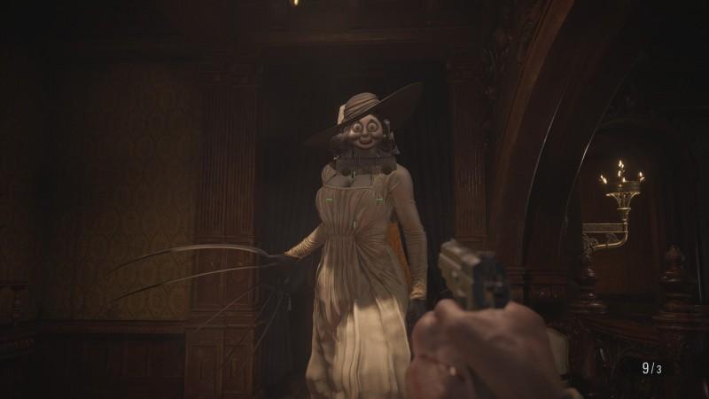 This Resident Evil Village Mod Transforms Lady Dimitrescu Into Thomas The Tank Engine