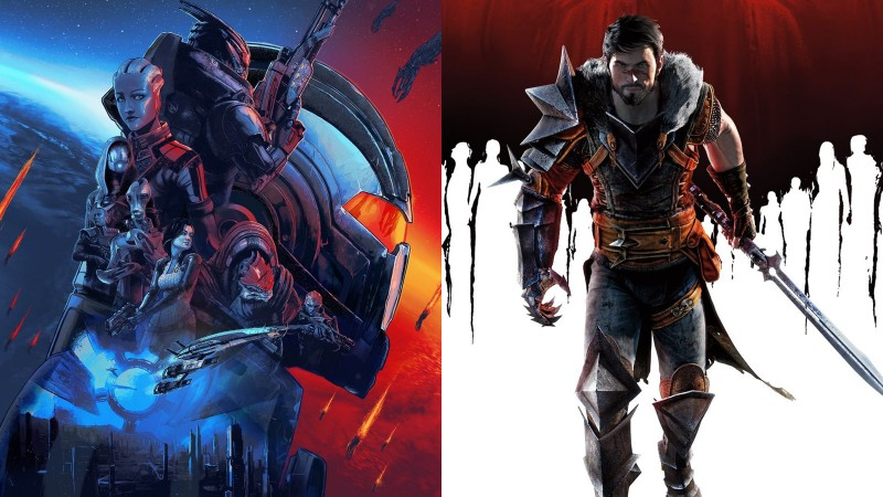 mass effect dragon age banner What Games Have The Game Informer Staff Replayed The Most?
