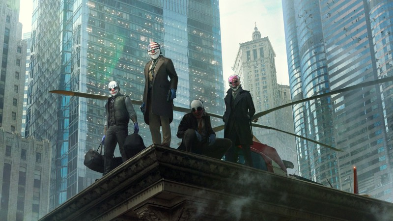 payday 3 the crew back together screen