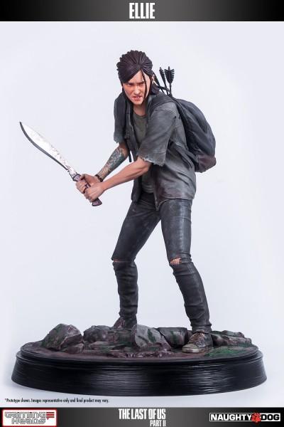 tlou2elliestatue - Новая статуя Элли в заголовках Fresh The Last Of Us Part II Gear - Game Informer