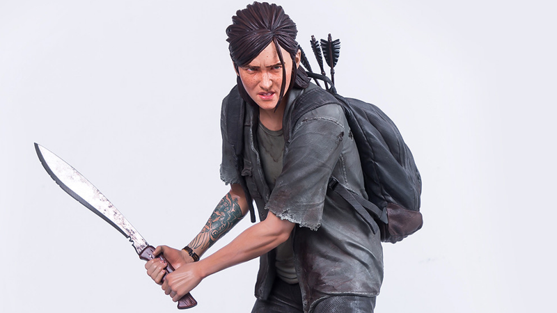 A New Ellie Statue Headlines Fresh The Last Of Us Part II Gear