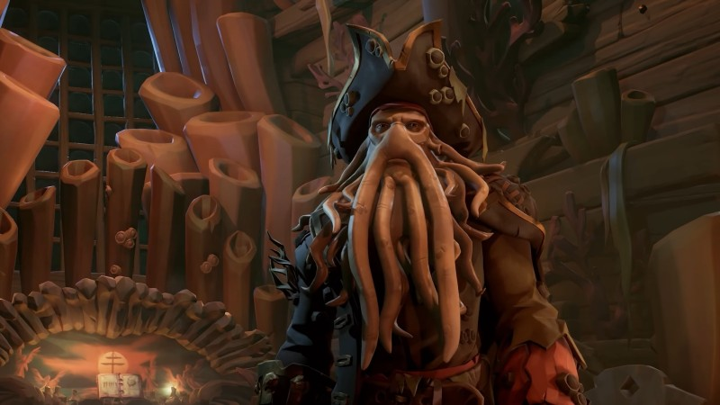 sea of thieves a pirates tale davy jones Sea Of Thieves: A Pirate's Life Preview – The Day That Rare Finally Caught Captain Jack Sparrow