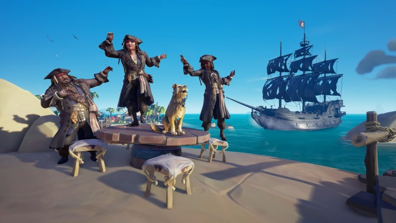 sea of thieves a pirates life cosmetics Sea Of Thieves: A Pirate's Life Preview – The Day That Rare Finally Caught Captain Jack Sparrow