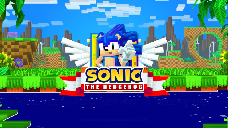 Minecraft Goes Above And Beyond To Celebrate Sonic's 30th Anniversary