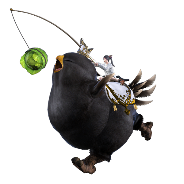 Final Fantasy XIV Online And Twitch Team Up For Free Rewards, Including The 'Fat Black Chocobo' Mount