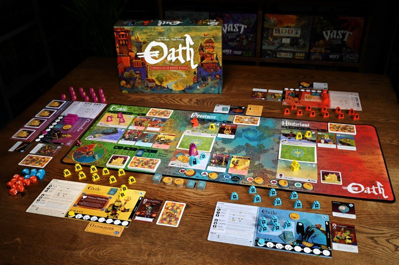 Oath Is One Of The Strangest (And Best) Board Games Of The Year
