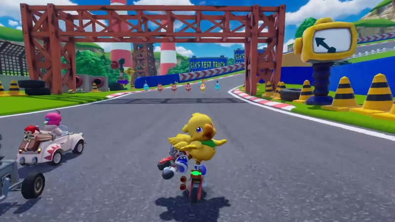 Get Ready To Race As Final Fantasy Characters In Chocobo GP For Switch