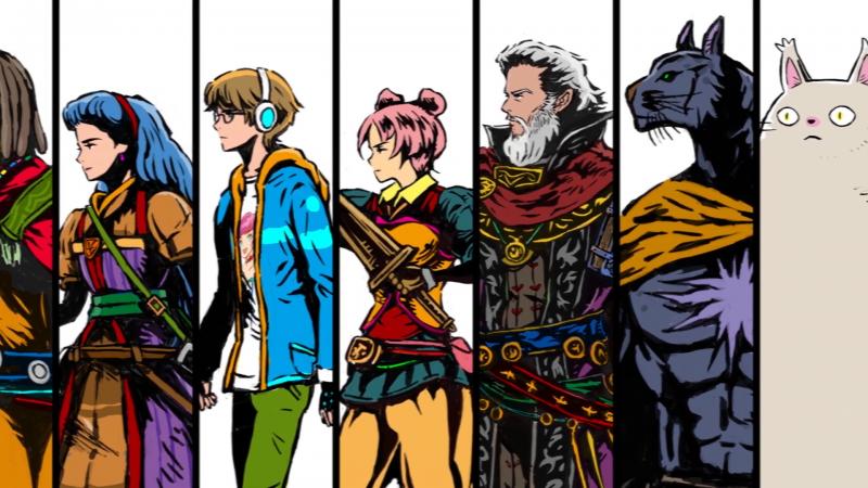Square Enix Reveals Minimalist RPG Dungeon Encounters