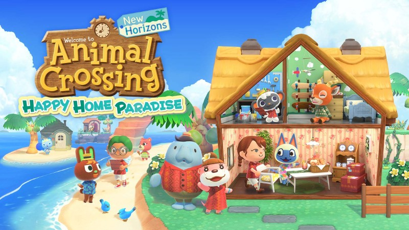 Animal Crossing: New Horizons Happy Home Paradise Paid DLC Announced, Launching Next Month
