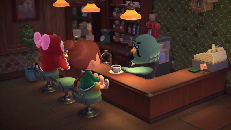 Brewster's Coffee Shop Returns To Animal Crossing New Horizons Alongside Older Features
