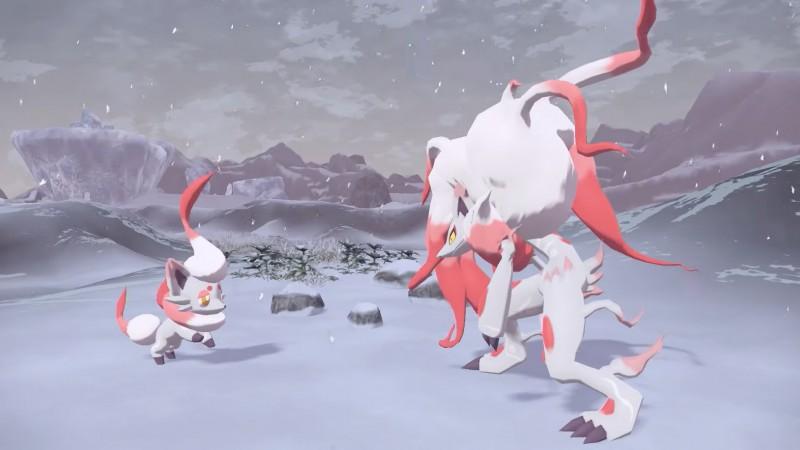 New Hisuian Forms For Zorua And Zoroark In Pokémon Legends: Arceus Revealed