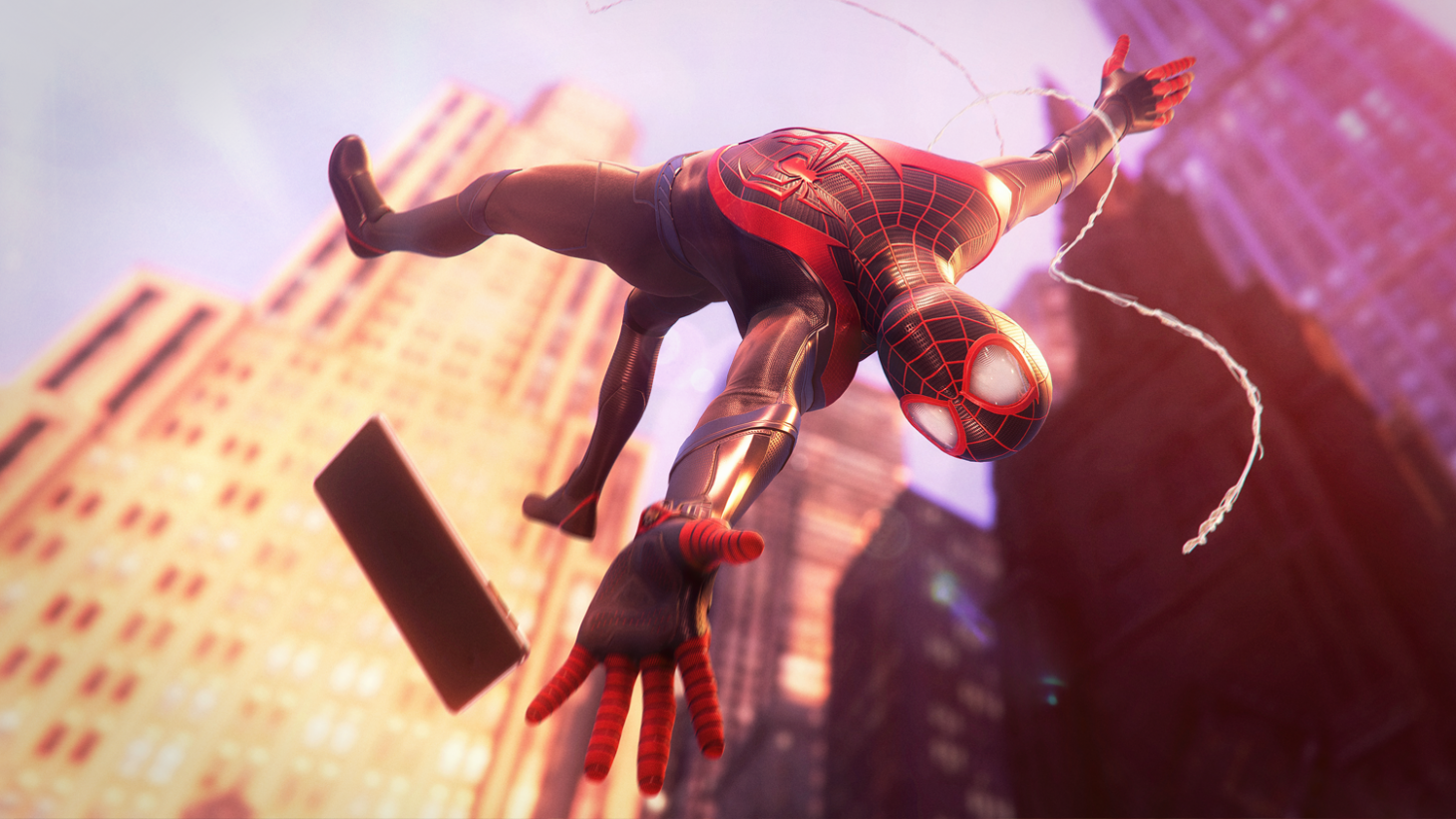 Spider Man Miles Morales Is Missing This Major New York City Landmark Game Informer