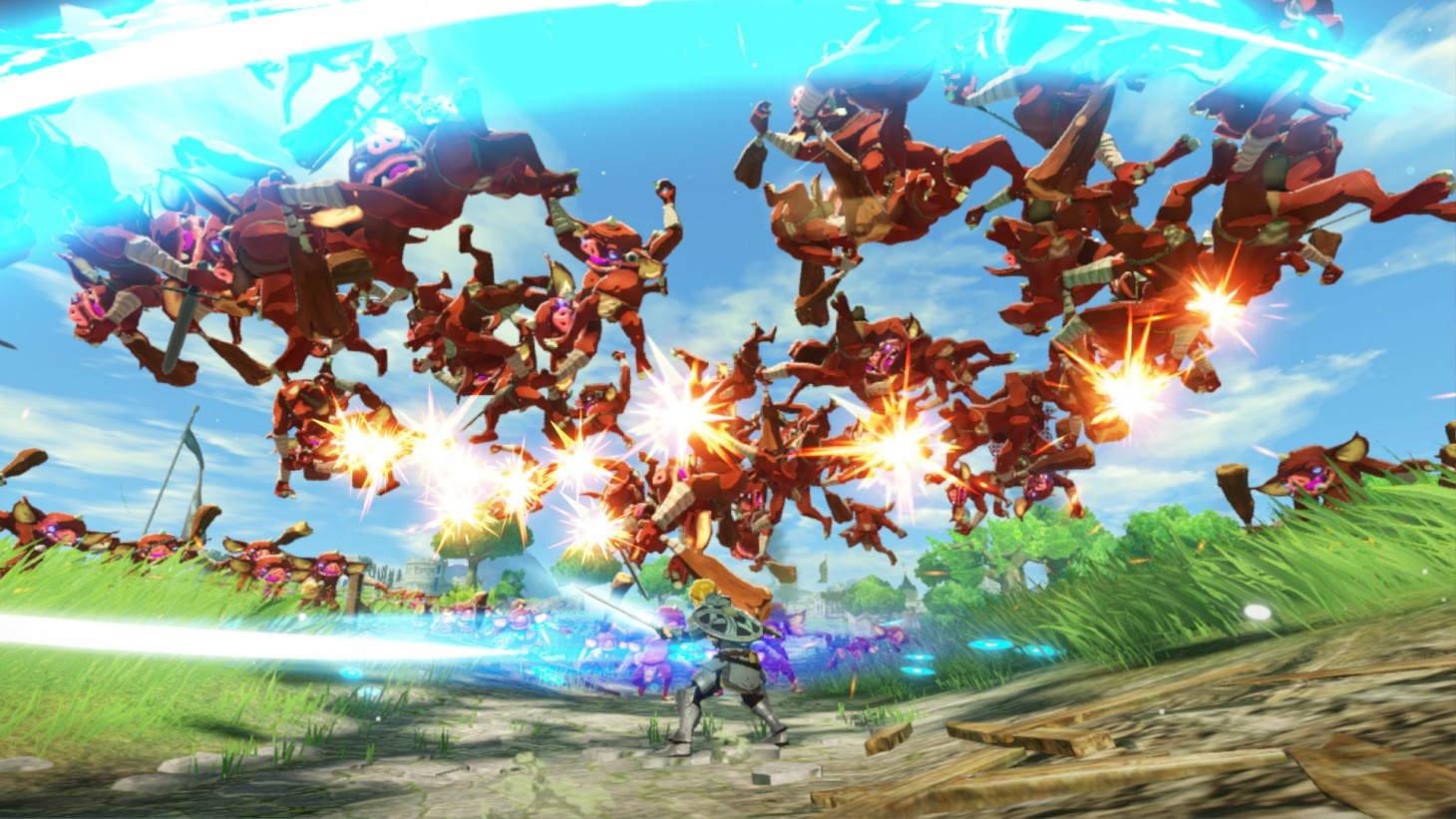 Hyrule Warriors Age Of Calamity Review Well Worn Fanservice Game Informer