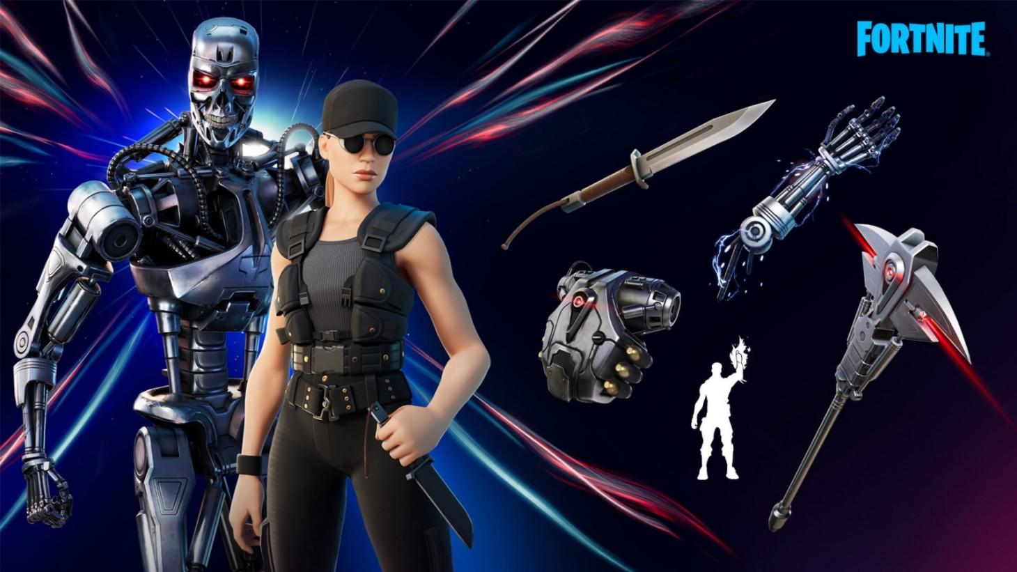 Fortnite Upgraded Default Skinds Terminator Skins Come To Fortnite Update Game Informer