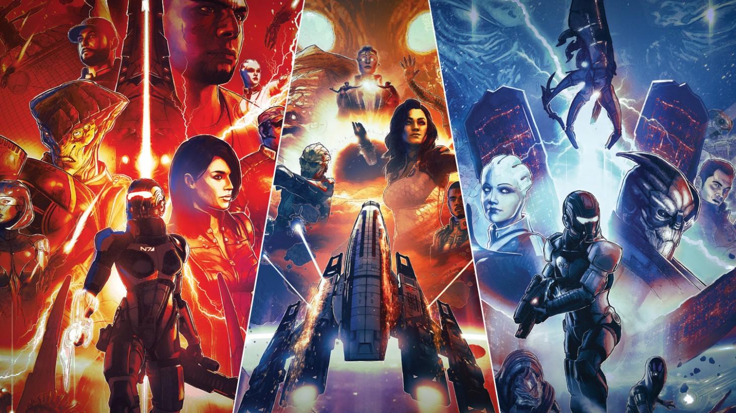 Cover Reveal – Mass Effect Legendary Edition - Game Informer