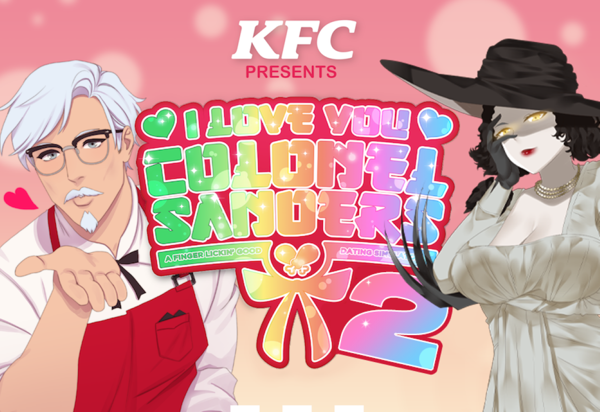 KFC Dating Sim Crosses Over With Resident Evil Village's ...