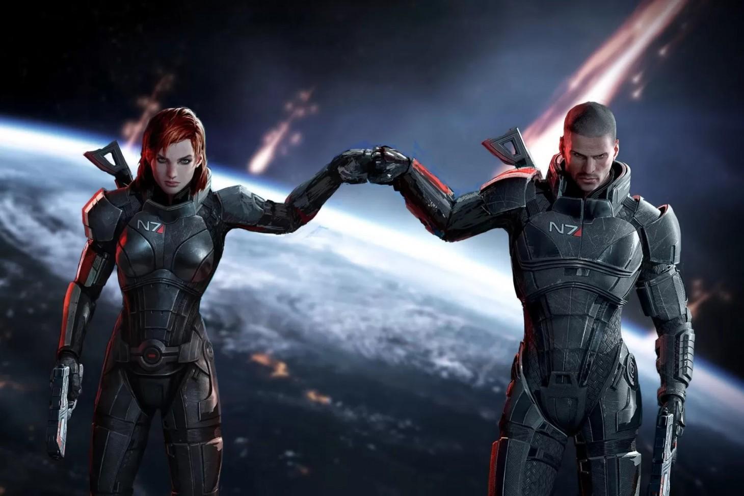 New Mass Effect Legendary Edition Screenshots Show Custom Shepard Improvements - Game Informer