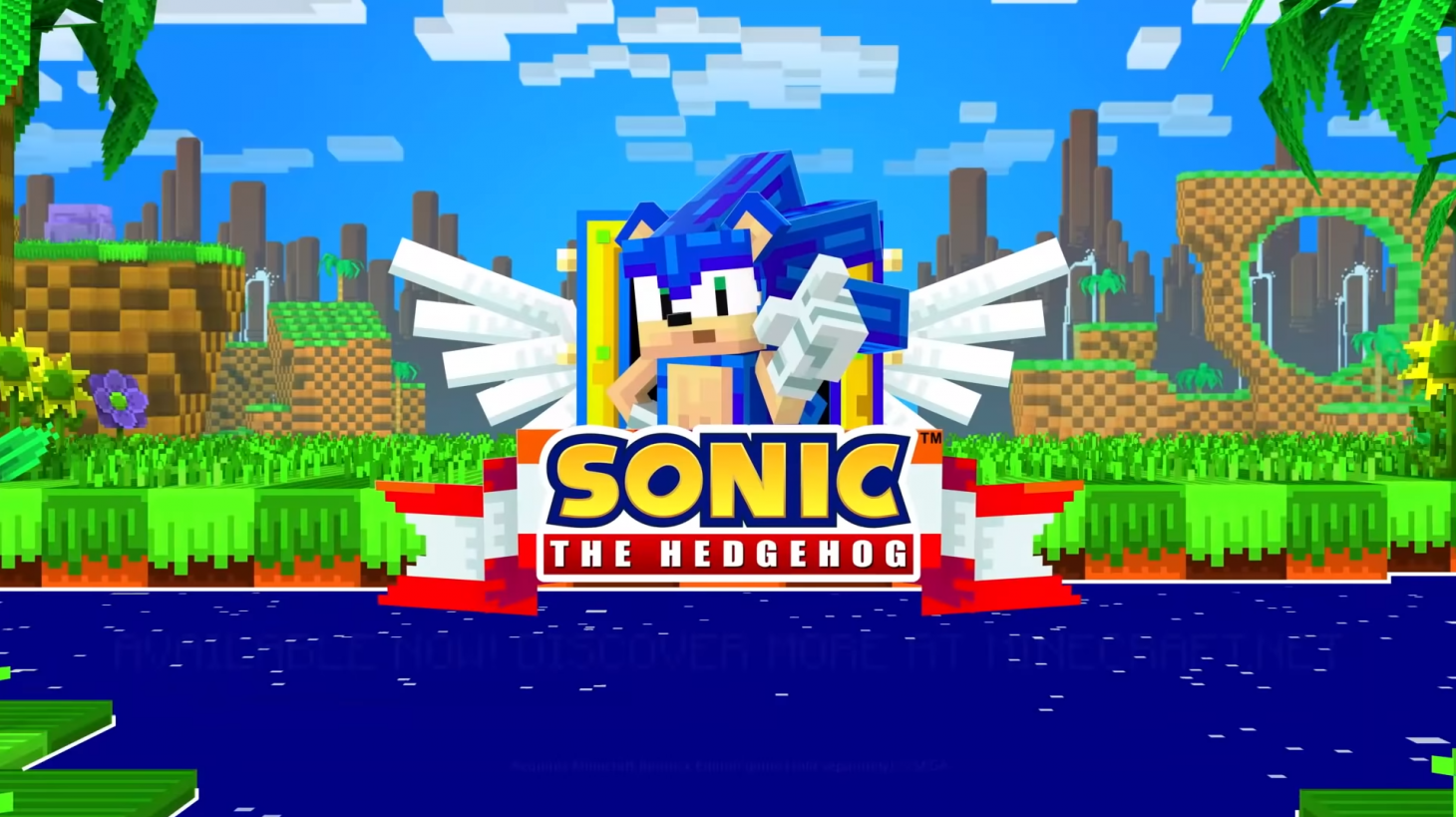 Minecraft Goes Above And Beyond To Celebrate Sonic's 20th ...