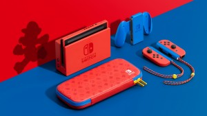 New Nintendo Switch Console Revealed With Mario Red & Blue Edition