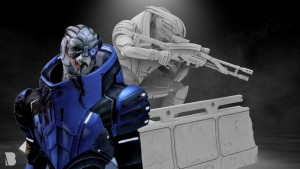 BioWare Teases A New Mass Effect Garrus Statue Coming Soon