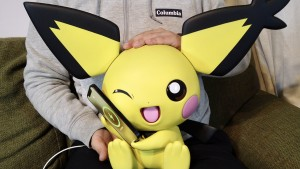 This Adorable Pokémon Charger Revives Your Phone With Pichu's Cheeks