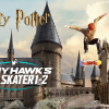 Harry Potter's Hogwarts Recreated In Tony Hawk's Pro Skater 1 + 2