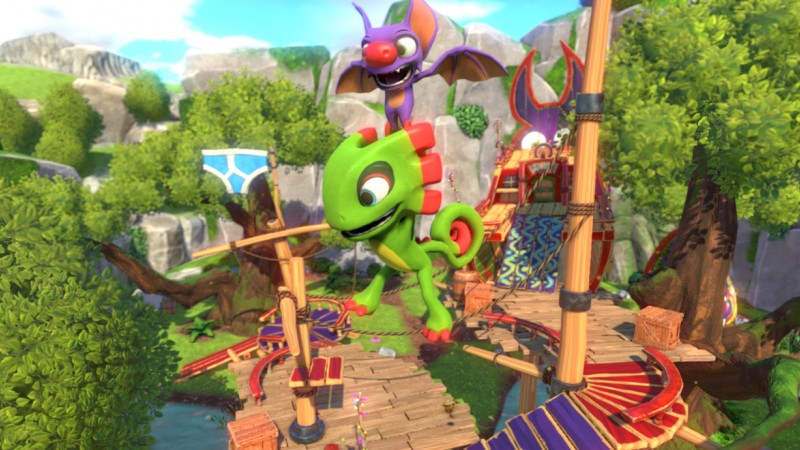 Playtonic Shows First Look At Yooka-Laylee's Demastered Mode