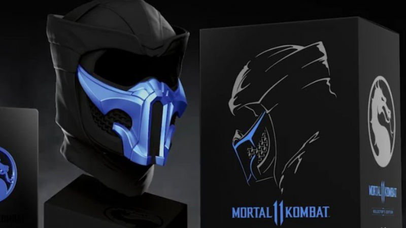New Mortal Kombat 11 Ultimate Kollector S Edition Features Sub Zero Mask But Only For Some Game Informer