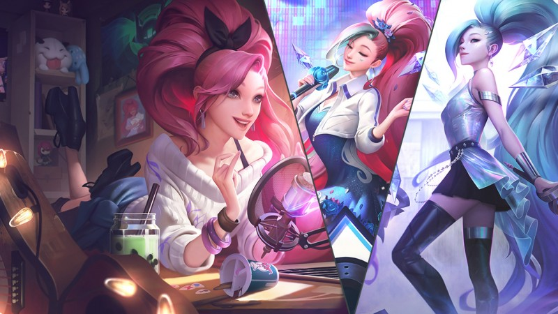 K/DA Is Coming To League Of Legends, Legends Of Runeterra, And Teamfight Tactics With New Gear