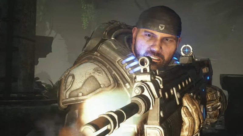 Gears 5 Next-Gen Update Let's Players Recast Marcus Fenix As Batista
